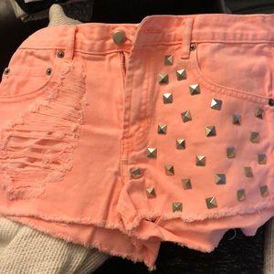 Forever 21 Shorts - Orange shorts